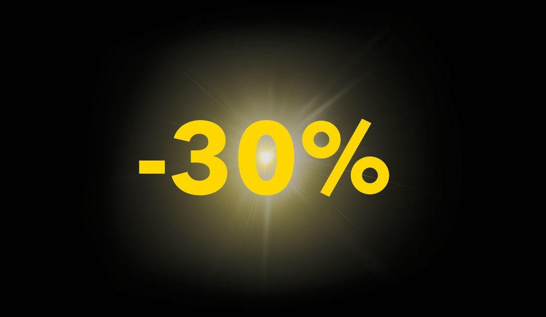 Προσφορά -30% ρευμα